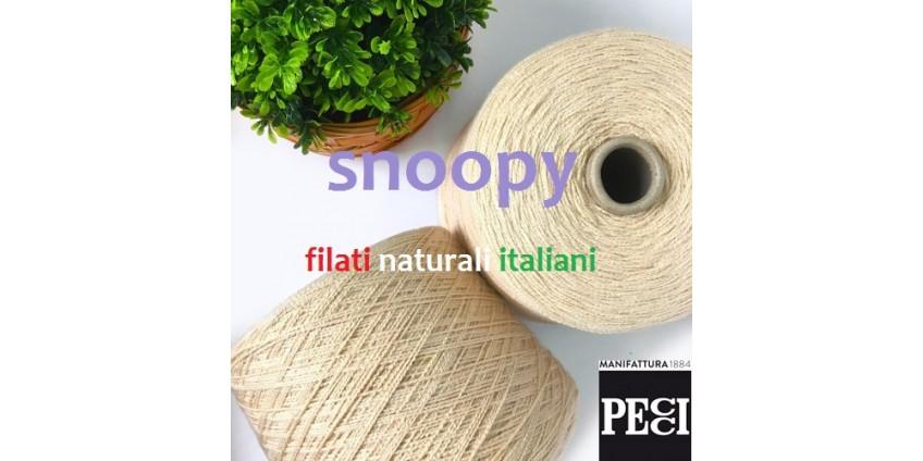 Пряжа SNOOPY - альпака  беби сури на шёлке из Флоренции